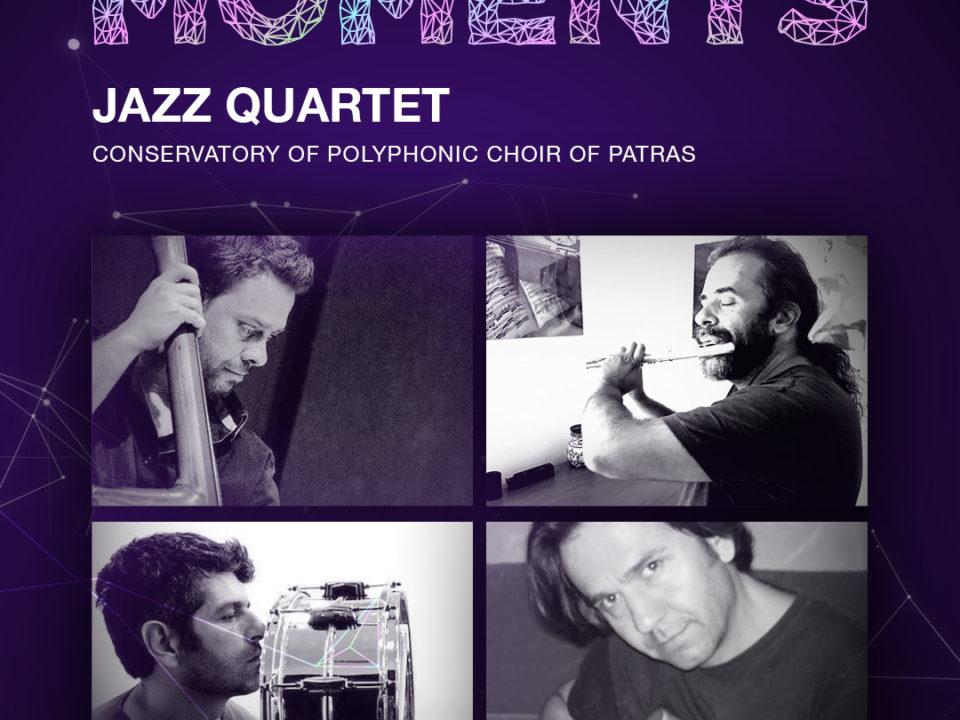 Κουαρτέτο Τζαζ Μουσικής - Ωδείο Πολυφωνικής Χορωδίας Πάτρας